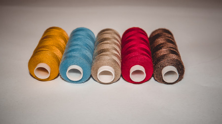 bobina: Coil of thread Foto de archivo