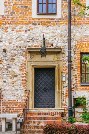Ancient door in the castle