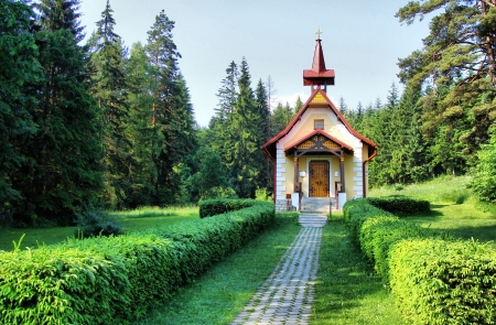 Way to the church