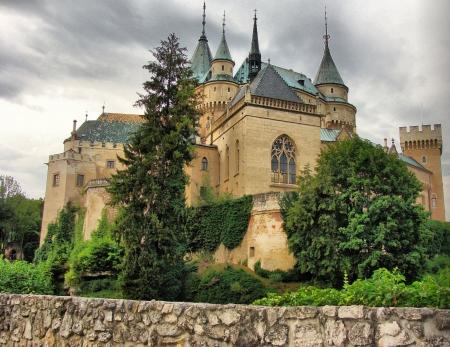 Bojnický zámek Reklamní fotografie
