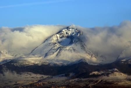 Hory v oblacích