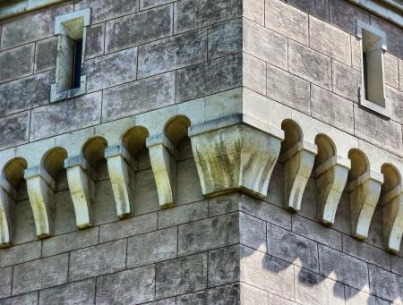 detail of the bojnice castle Reklamní fotografie