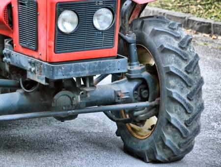 traktor, detail kola Reklamní fotografie