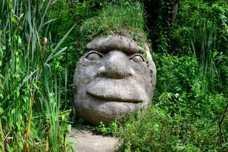 Statue head Reklamní fotografie