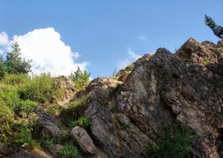 skalní stěna