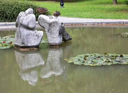 kamenné sochy