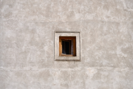 small window on the wall