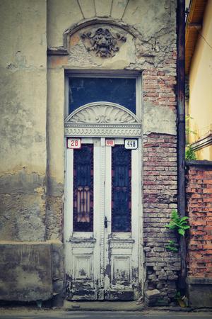 staré dveře Reklamní fotografie