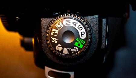 Comand disc of photo camera photo