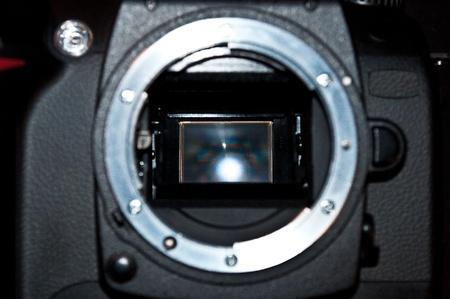 Photo camera inner mirror photo