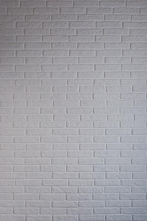 white brick wall in the interior photo