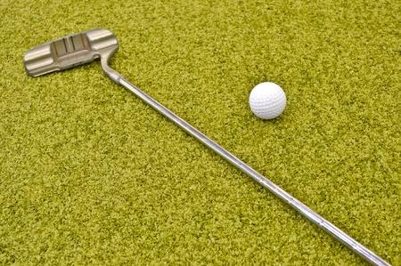 mini golf inside interior photo