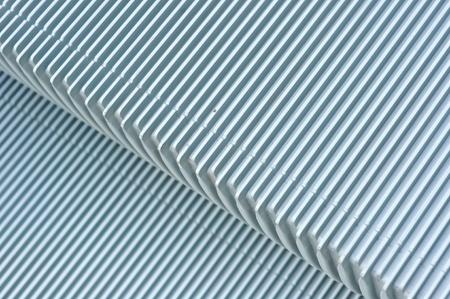 close up of escalator steps Standard-Bild