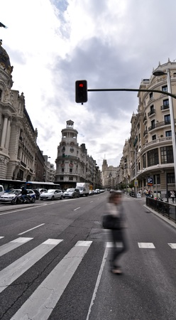 landmark. madrid. spain photo