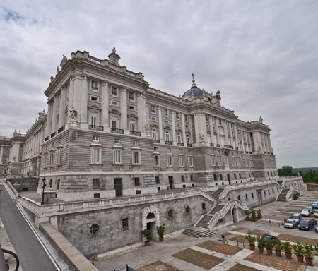 The Royal Palace. Palacio de Oriente, Madrid landmark