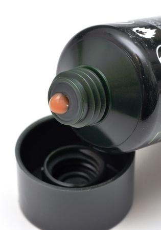 black tube of cosmetic cream Stock Photo - 13359098