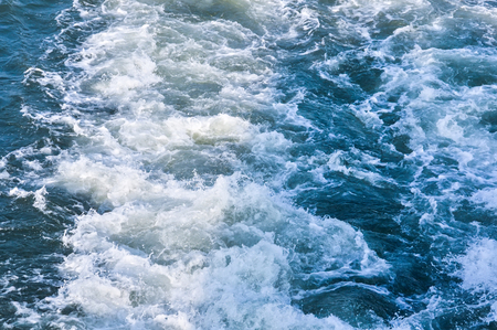 profundity: seethe water from the propeller sea ship