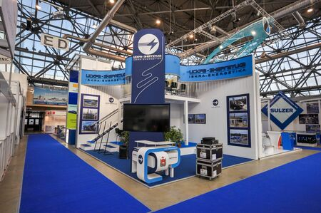 Iskra energetika booth at NEFTEGAZ 2012: International Exhibition for Equipment and Technologies for Oil and Gas Industries, Moscow, Russia, 25 june 2012