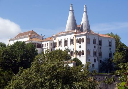 feudalism: National Palace of Sintra, Portugal
