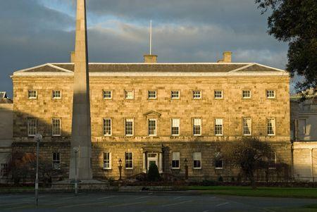 leinster: Leinster House 1745 in Dublin Stock Photo