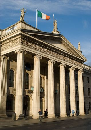independency: General Post Office 1818 in Dublin, Ireland