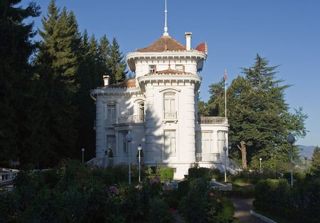 ataturk: Ataturk kiosk, former Kapagiannidis summer residence, Trabzon, Black Sea, Turkey Stock Photo