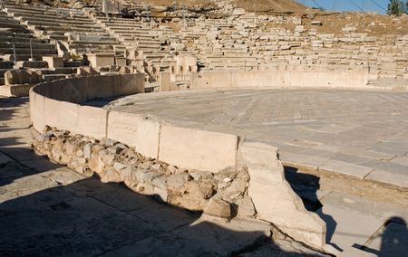 passageways: Theater of Dionisos Eleuthereos, Athens,