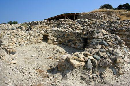 archaeological site: Choirokoitia archaeological site, Cyprus
