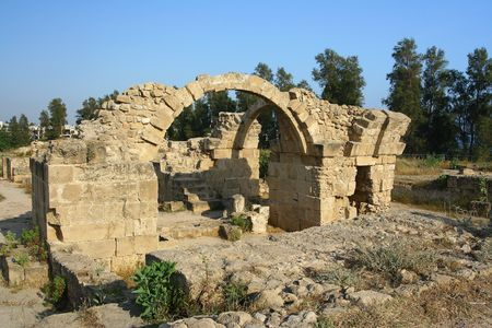 archaeological site: Saranta Kolones archaeological site, Pafos, Cyprus