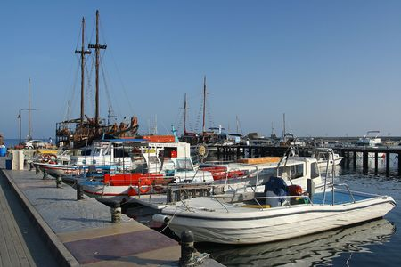 fishingboats: The harbour of Pafos, Cyprus