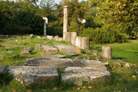archaeological site: Archaeological site, Thasos island, Greece