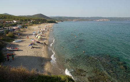 sithonia: Salonikiou beach, Halkidiki, Greece