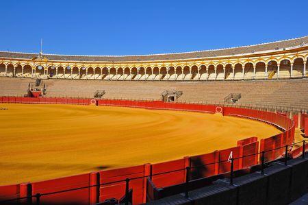 sevilla: Arena op Plaza de los toros, Sevilla, Spanje
