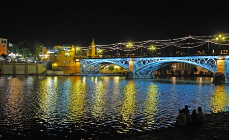 seville: Triana bridge, Seville, Spain