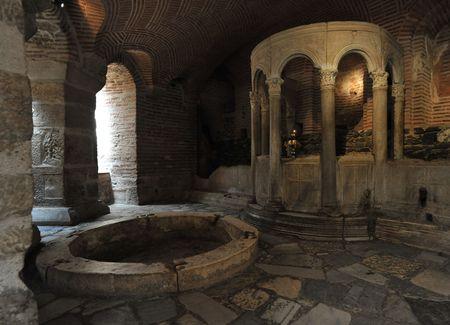 heritage protection: Crypt of Saint Demetrius, Thessaloniki, Greece