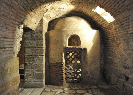 crypt: Crypt of Saint Demetrius, Thessaloniki, Greece