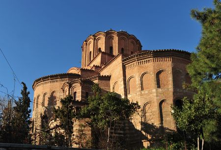 byzantine: Prophet Elias byzantine church, Thessaloniki, Greece
