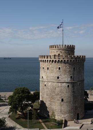 thessaloniki: White tower, now City museum, Thessaloniki, Greece