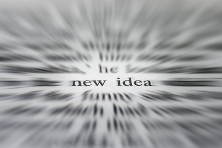 new idea: New idea - concept
