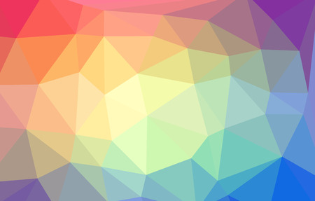 pinnacle: Triangular abstract colorful background