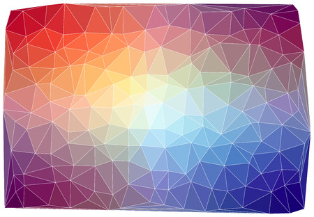 vertex: Triangular abstract colorful background    Illustration