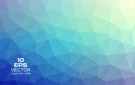 Triangular abstract colorful background     Vector
