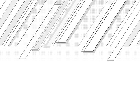 blocky: Follow-up diagonal cornered grey graphic with halftone.