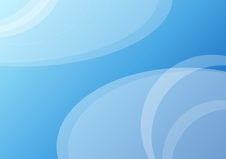 backround: Simple vector blue backround with circles.