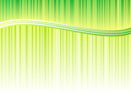 lila: green lines background with wave.