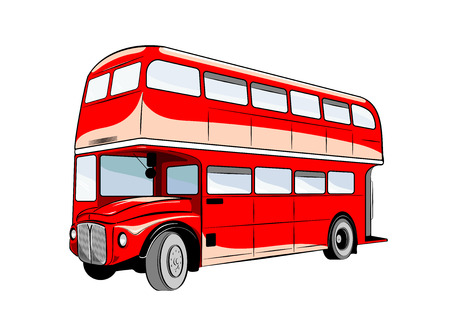 sosie: Richard Decker bus traditionnels double est de kinkdom unie.