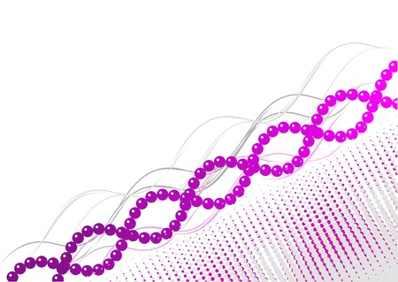 Purple and pink spiral background Иллюстрация