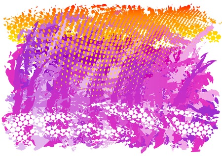 lila: Purple and orange abstract background