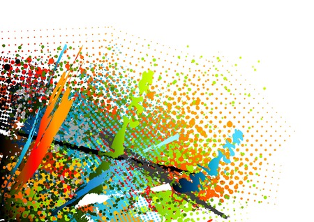 motley: abstract motley background Illustration