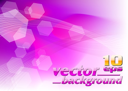 abstract magenta background with lines Vector